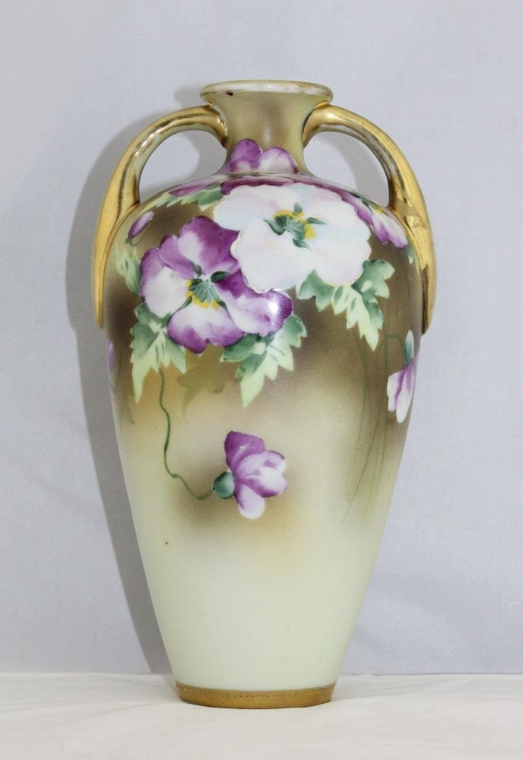 1911 to 1921 NIPPON Morimura Brothers Hand Painted Vase