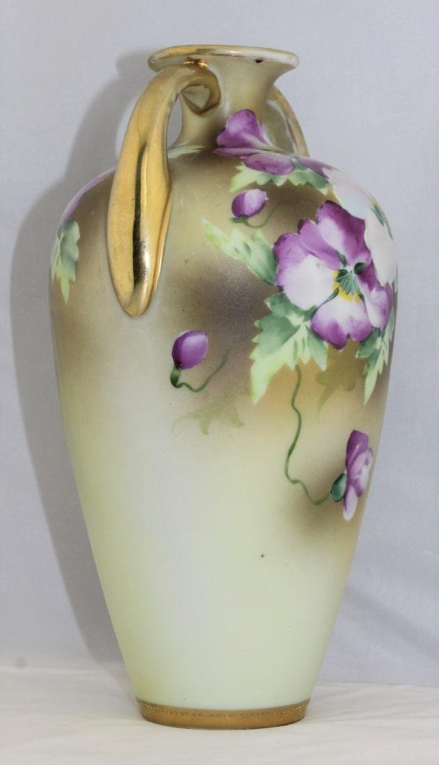 1911 to 1921 NIPPON Morimura Brothers Hand Painted Vase - 3