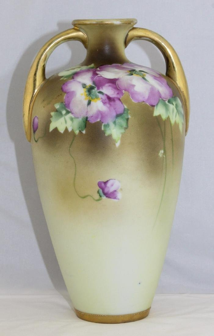 1911 to 1921 NIPPON Morimura Brothers Hand Painted Vase - 4