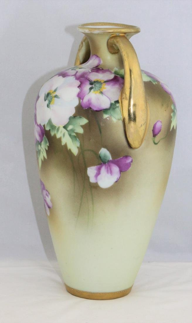 1911 to 1921 NIPPON Morimura Brothers Hand Painted Vase - 5