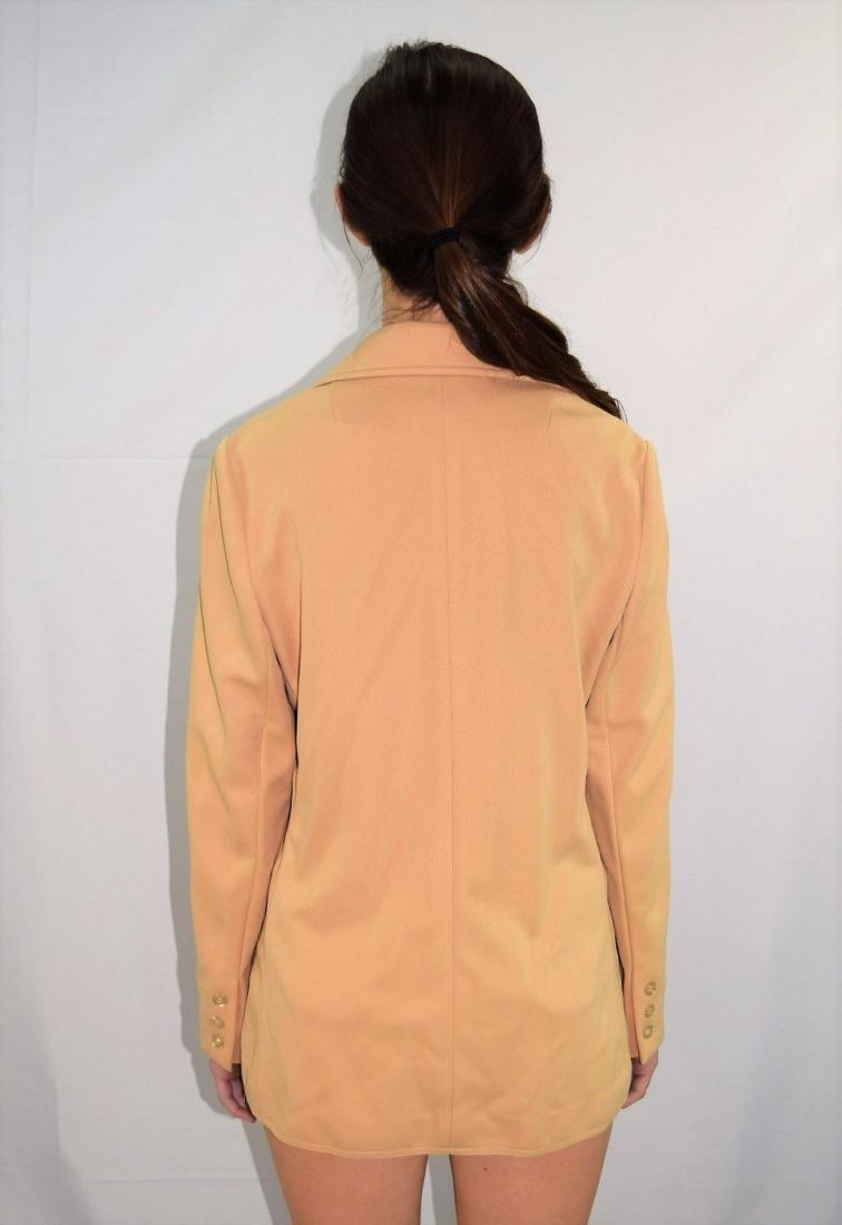 Vintage 70's GIVENCHY Polyester Blazer Jacket -Size M - 3
