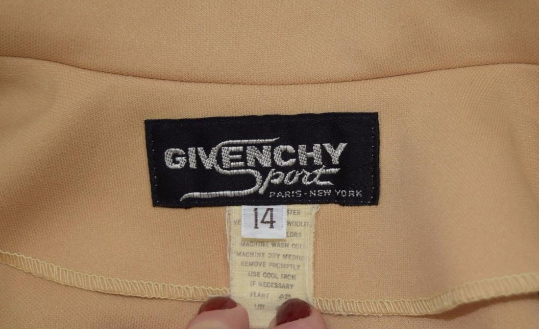 Vintage 70's GIVENCHY Polyester Blazer Jacket -Size M - 4