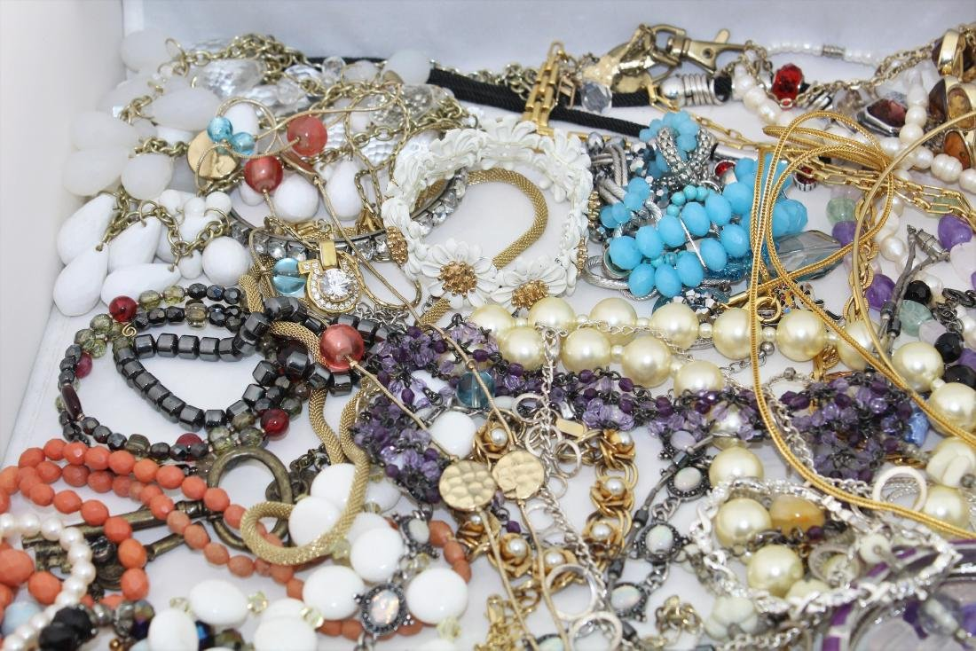 Vintage Costume Jewelry Lot  4.10 Pounds - 2