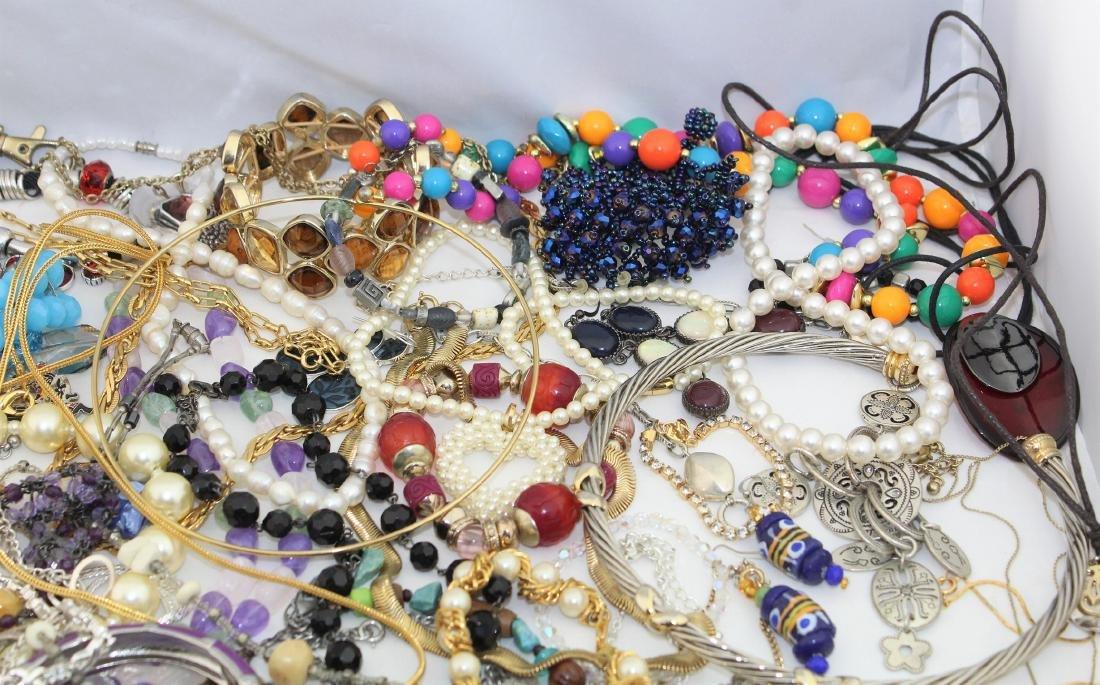 Vintage Costume Jewelry Lot  4.10 Pounds - 3