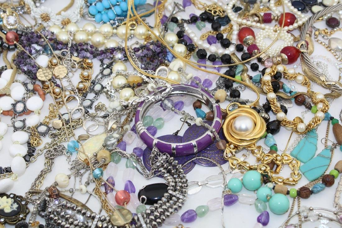 Vintage Costume Jewelry Lot  4.10 Pounds - 4