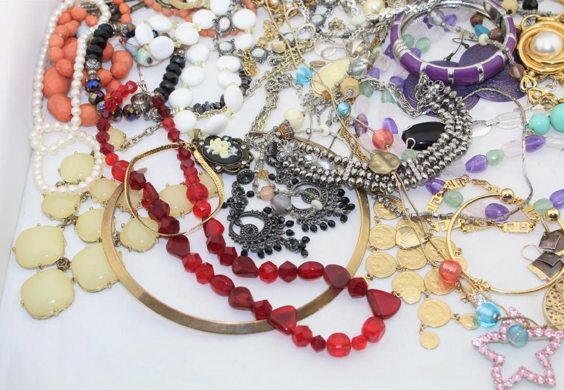 Vintage Costume Jewelry Lot  4.10 Pounds - 5