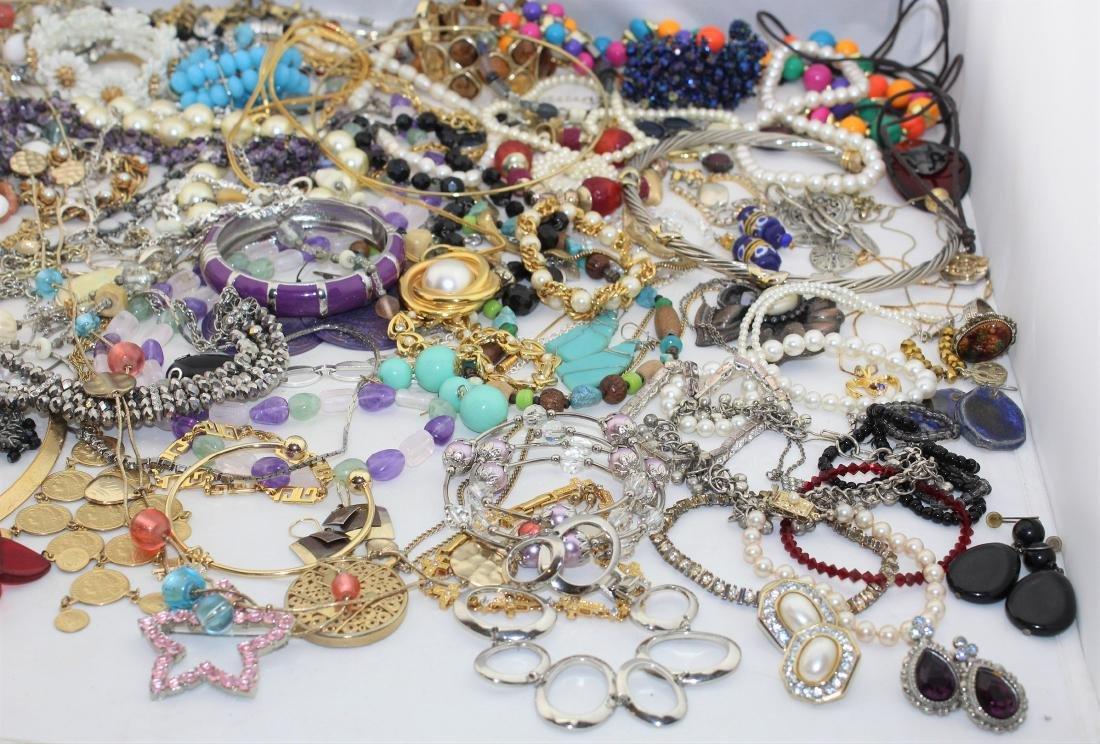 Vintage Costume Jewelry Lot  4.10 Pounds - 6