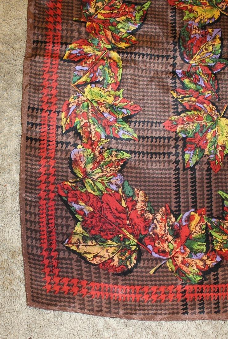 OSCAR DE LA RENTA Autumn Leaf Scarf - 2