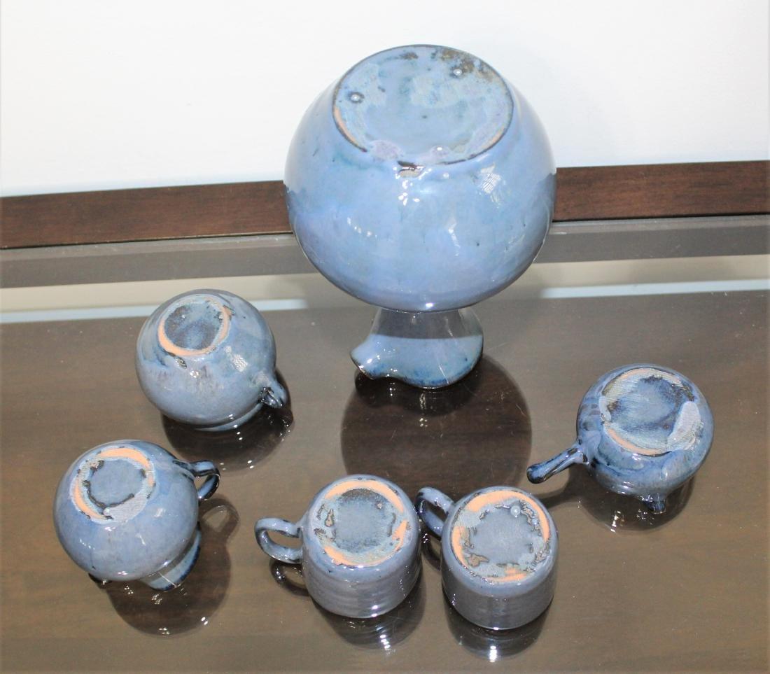 NC Pottery, Waymon Cole, 6 Piece Beverage Set - 2