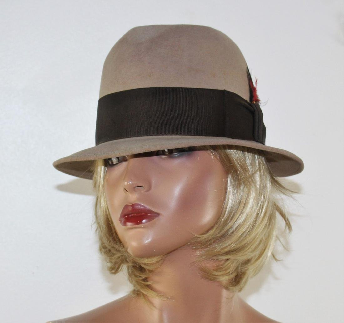 efe83367a Vintage 50's 60's Men's Royal STETSON Fedora Hat 7 1/8