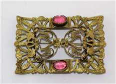 Large Antique Victorian Brooch Pin