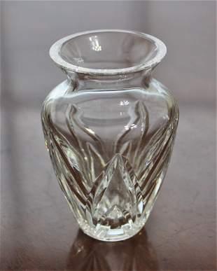 """WATERFORD 4"""" Flower Vase Giftware Cut Crystal"""