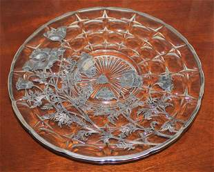 Sterling Silver Overlaid FLANDERS CLEAR By Silver City