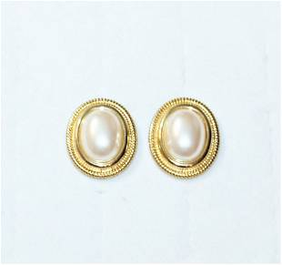 Givenchy Jewelry Givenchy Faux Pearl Earrings