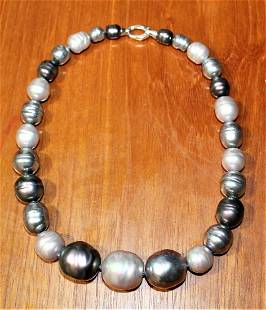 MAJORICA Graduated Pearl Necklace - 10mm to 20mm Pearls