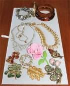 Vintage Costume Jewelry Lot - 420 grams