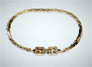 Givenchy Gold Plate Women's Bracelet