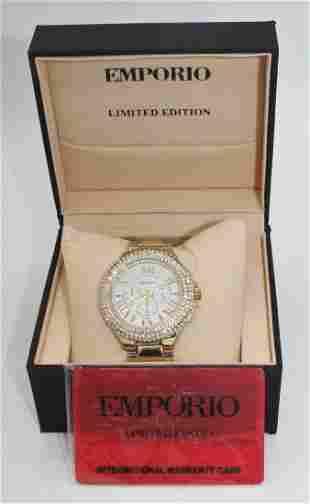 New EMPORIO Di MiLANO Limited Edition Quartz Watch