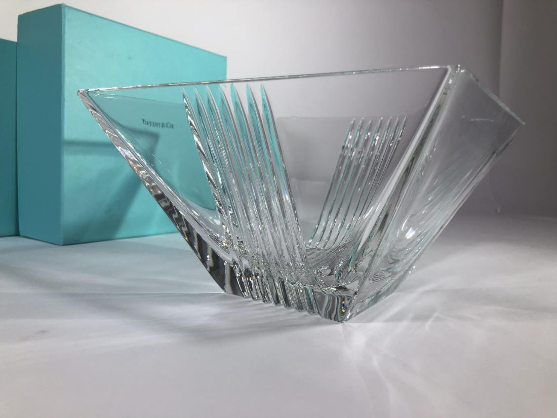 Tiffany & Co. Signed glass bowl