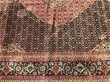 Large 1900s PersianTabriz Hand Woven Rug