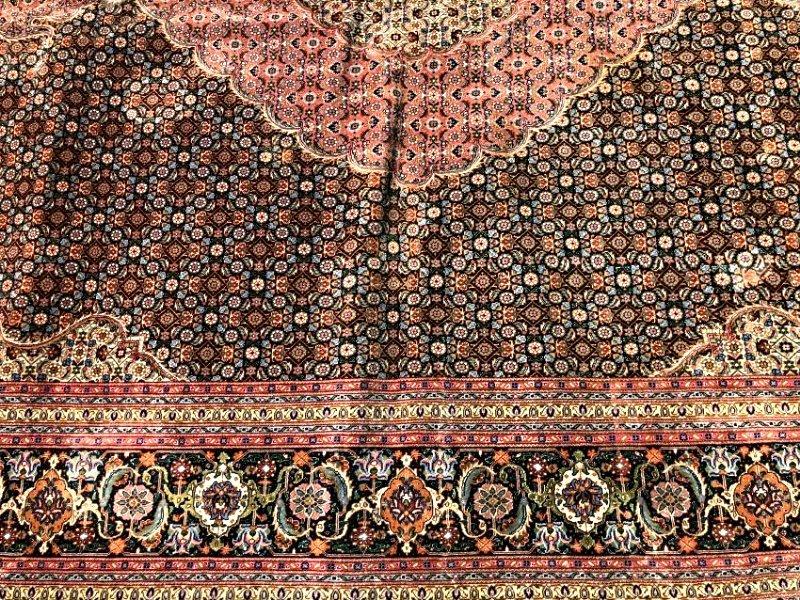 Large 1900s PersianTabriz Hand Woven Rug