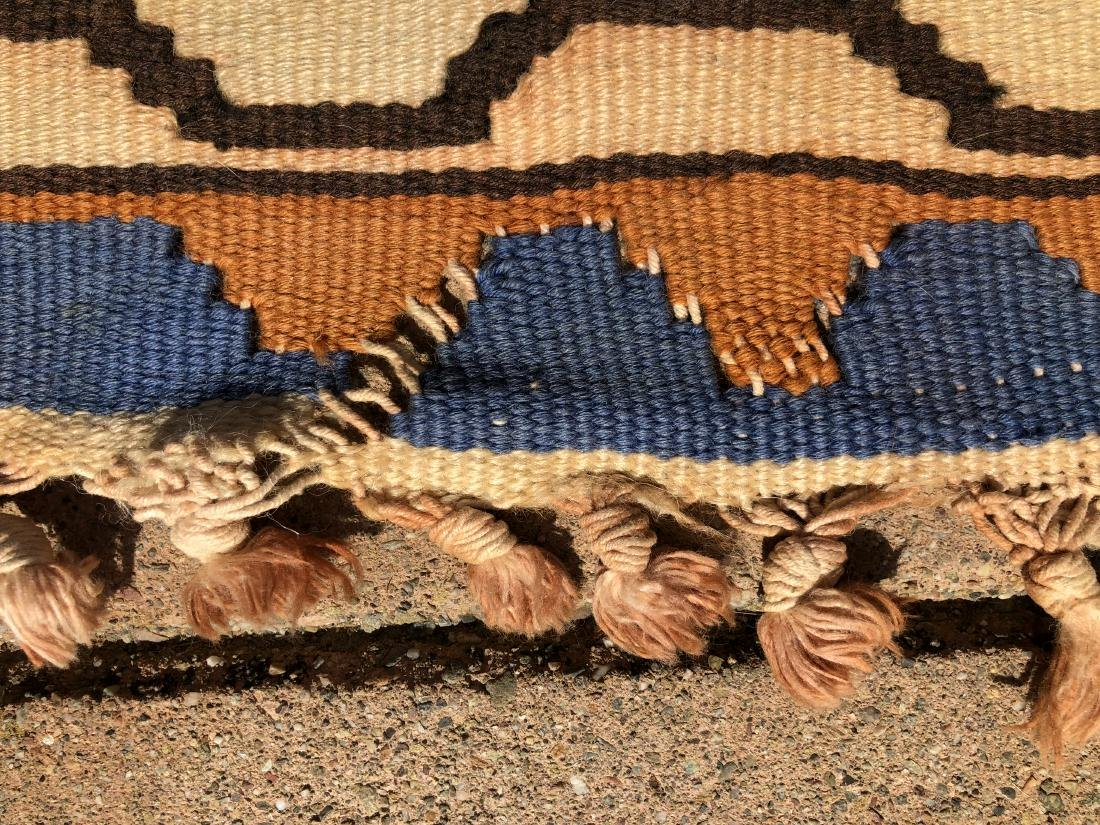 Kilims Rug in Blue, Red and Orange - 5