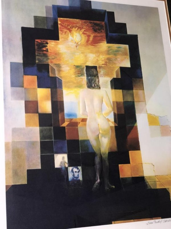 Authenticated Salvador Dali Embossed Offset Lithograph - 2