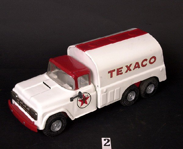 2: Buddy L Texaco gasoline delivery truck (custom)
