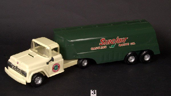3: Buddy L Sinclair gasoline tanker (custom)