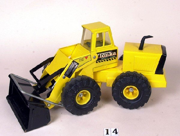 14: Tonka front end loader (original)