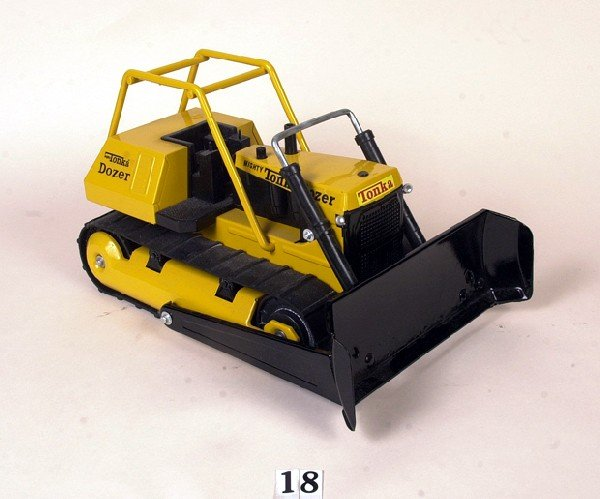 18: Mighty Tonka dozer