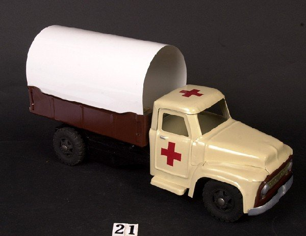 21: Buddy L Red Cross truck (custom)