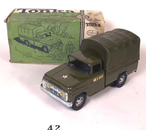 42: Tonka No. 380 Troop Carrier w/ box