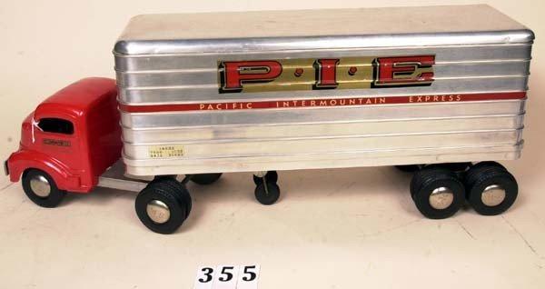 355: Smith Miller P.I.E. tractor trailer Pacific Interm