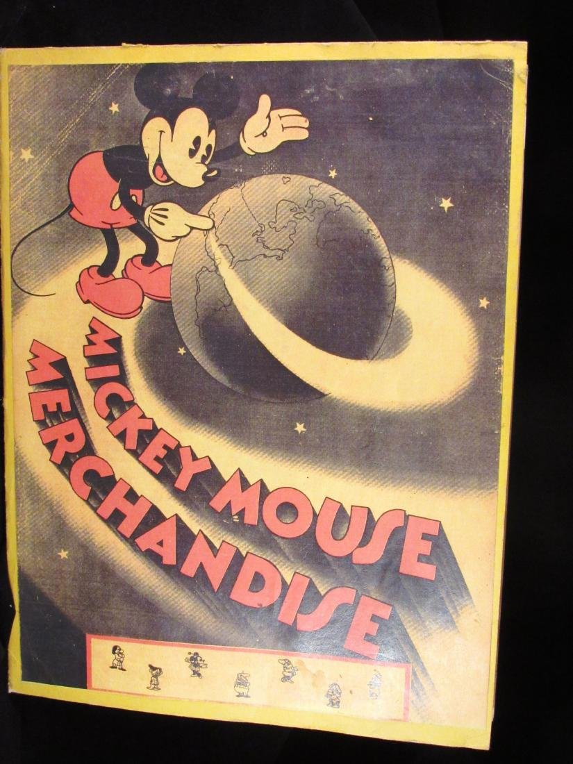 1934 Reproduction Mickey Mouse Merchandise catalog