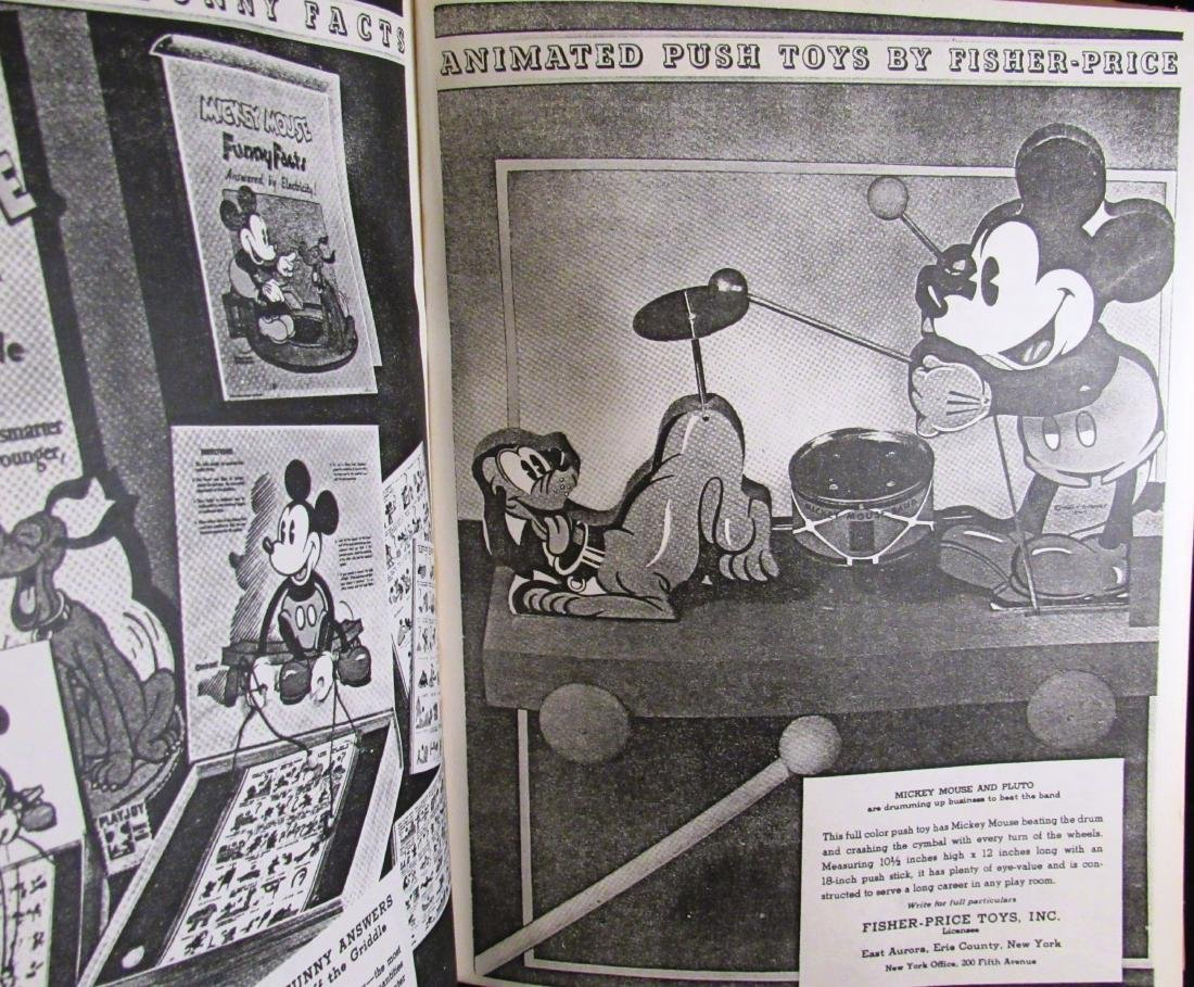 1934 Reproduction Mickey Mouse Merchandise catalog - 4