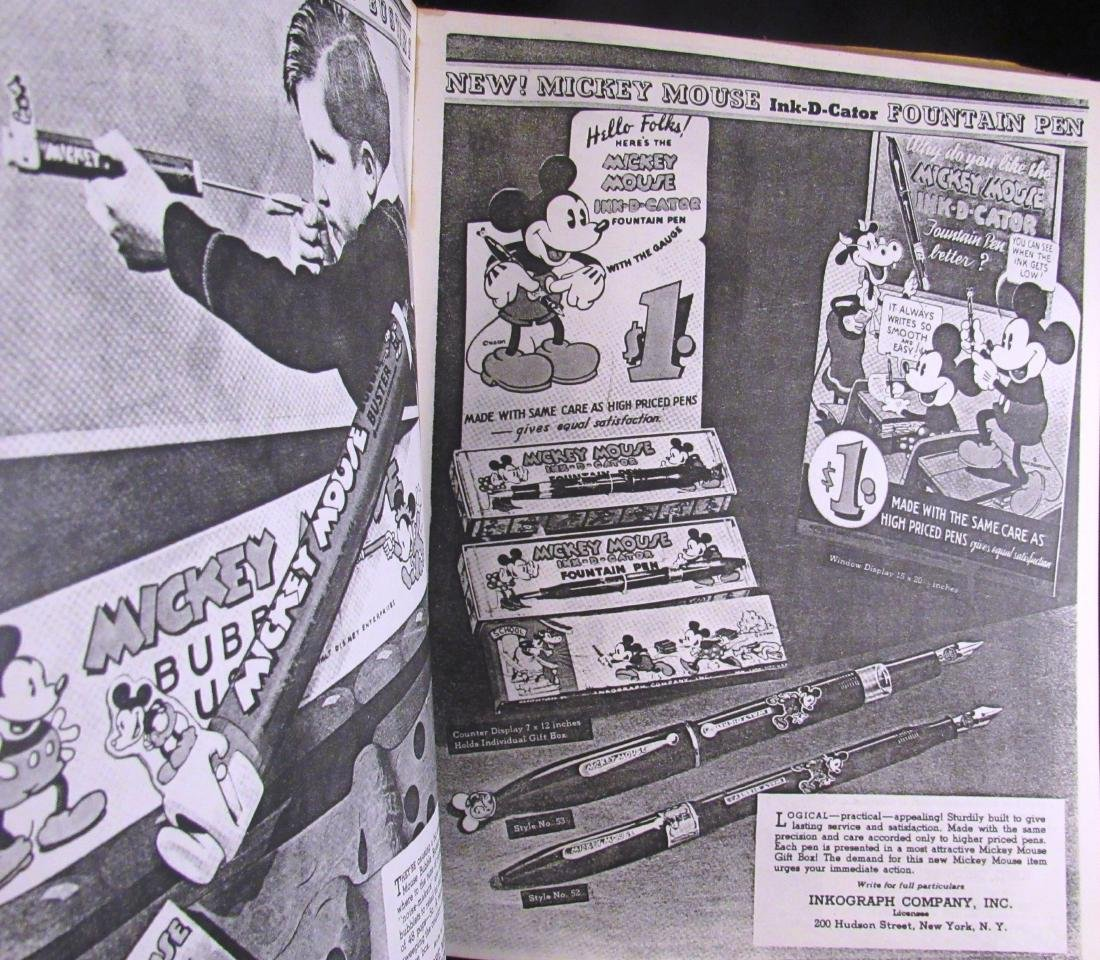 1934 Reproduction Mickey Mouse Merchandise catalog - 6