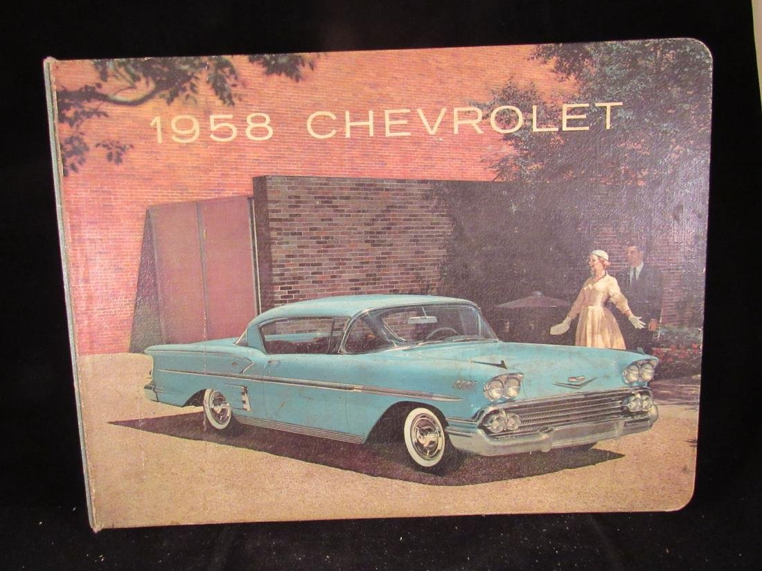 Chevrolet 1958 dealer showroom catalog