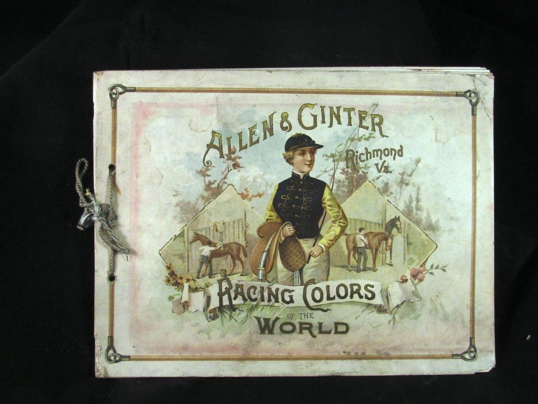 Allen- Ginter 1888 Racing Colors Tobacco album