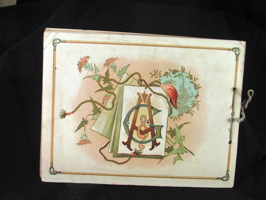 Allen- Ginter 1888 Racing Colors Tobacco album - 2
