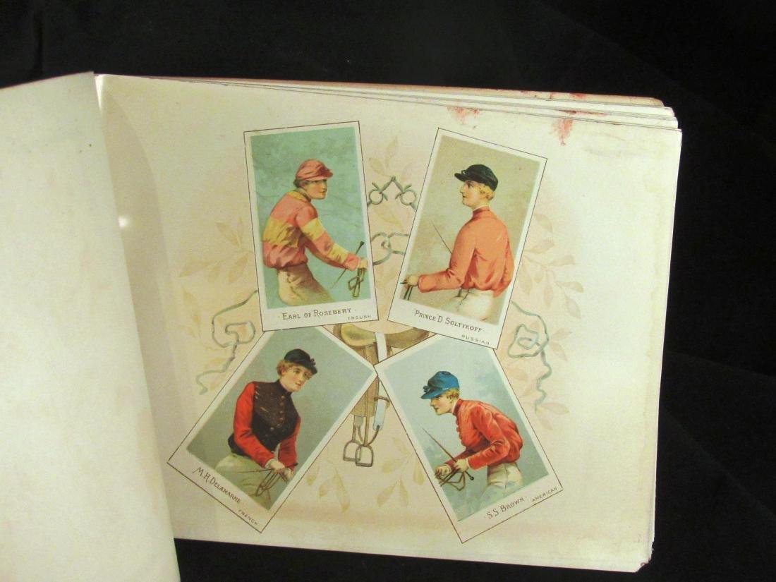 Allen- Ginter 1888 Racing Colors Tobacco album - 3