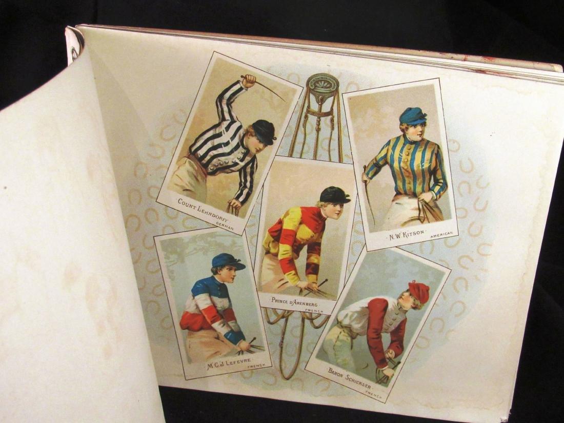 Allen- Ginter 1888 Racing Colors Tobacco album - 4