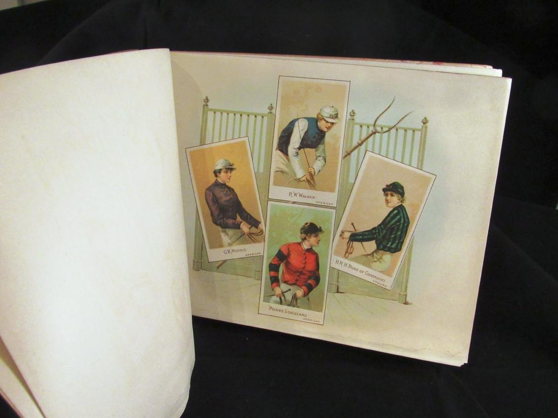 Allen- Ginter 1888 Racing Colors Tobacco album - 5