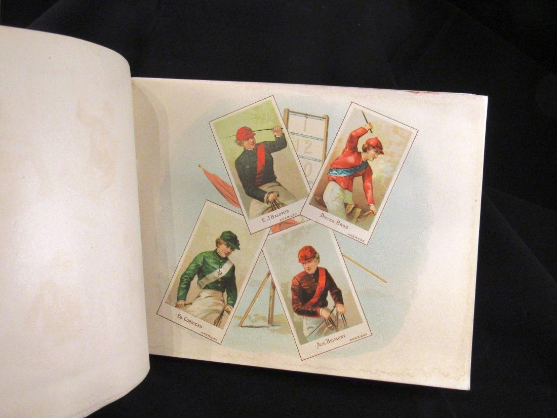 Allen- Ginter 1888 Racing Colors Tobacco album - 6