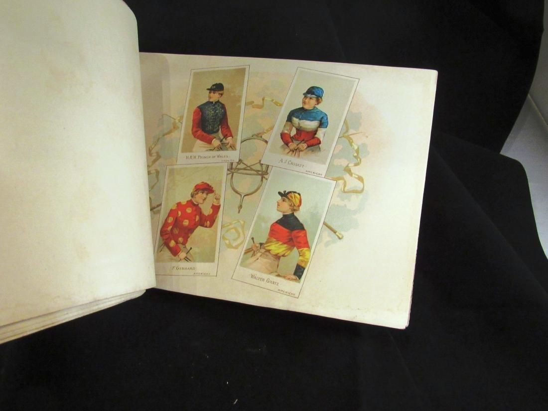 Allen- Ginter 1888 Racing Colors Tobacco album - 8