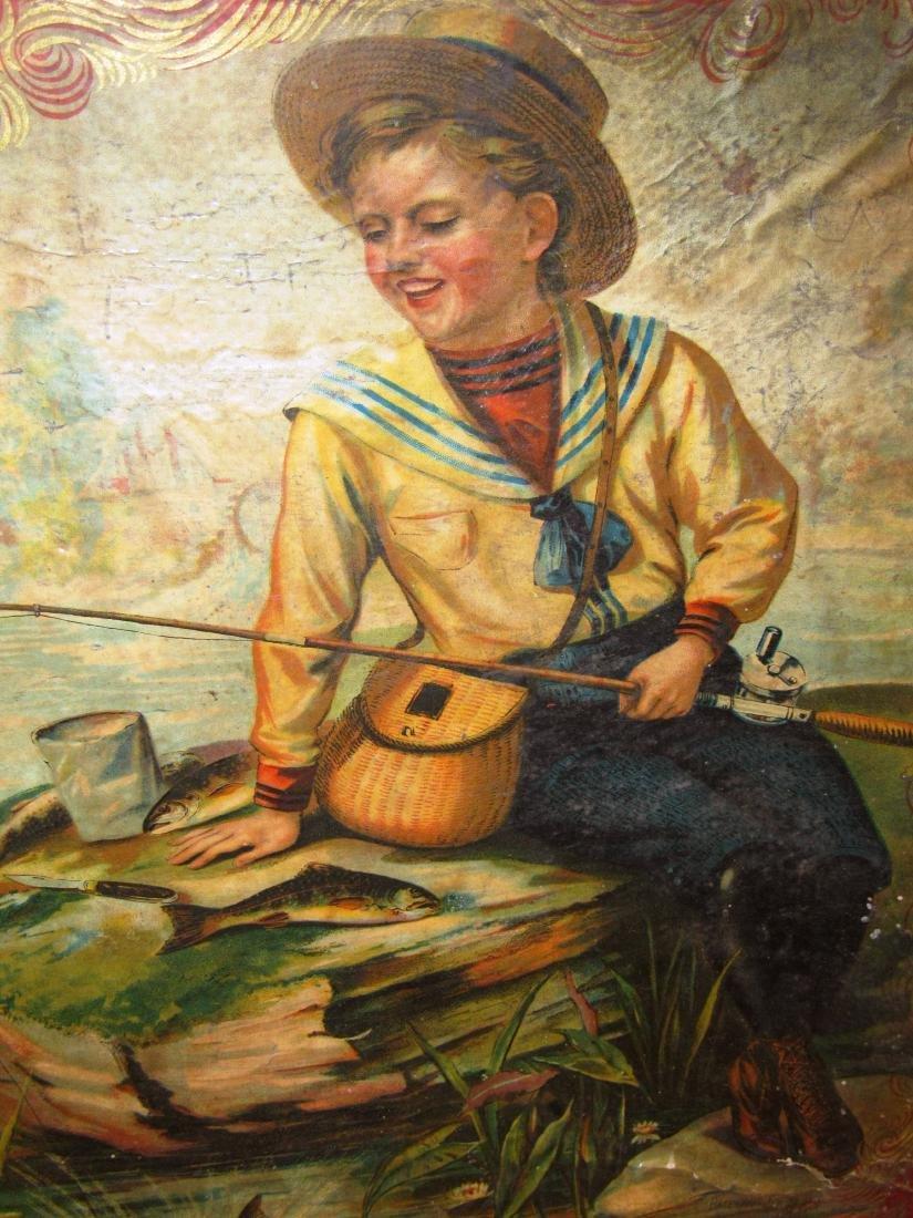 "1898 ""Fish Pond"" Mc Loughlin game in box - 3"
