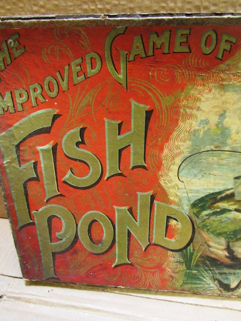 "1898 ""Fish Pond"" Mc Loughlin game in box - 4"