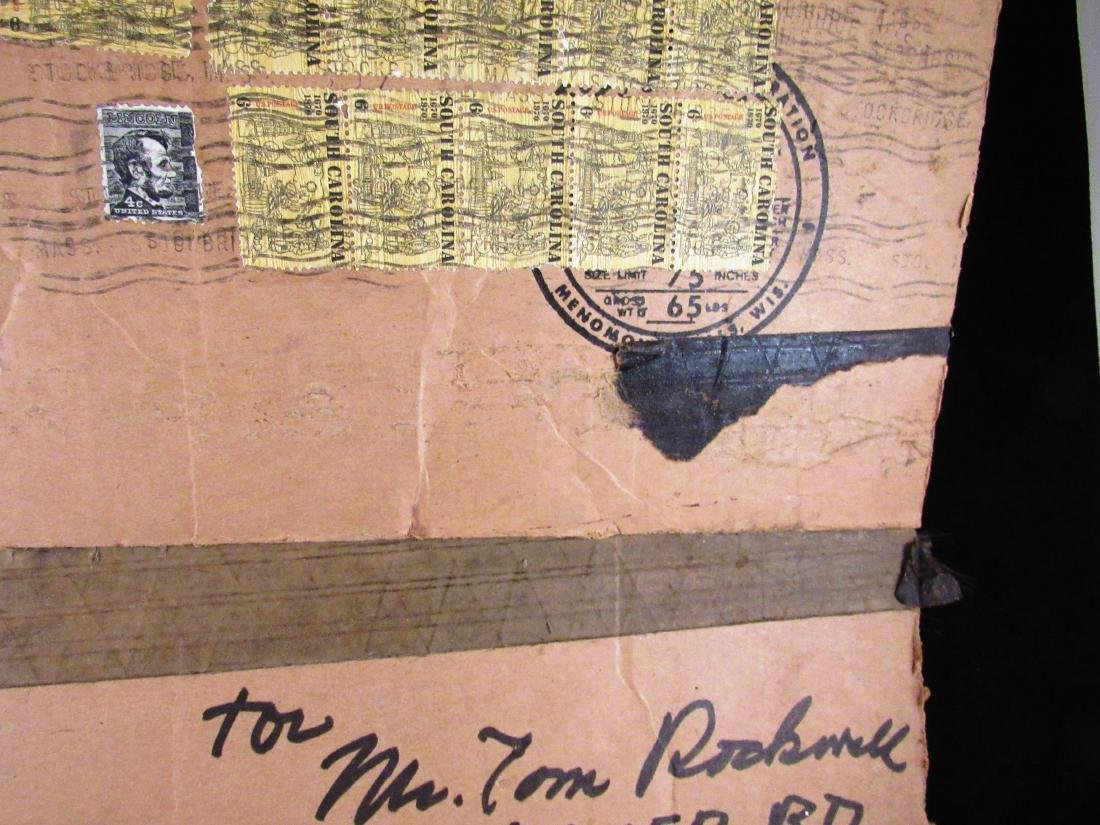 Norman Rockwell  autograph on box top - 4