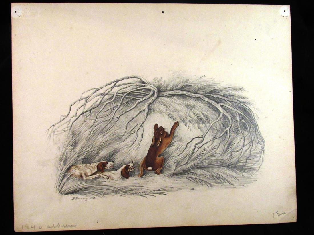 B. Fenning British, signed, 1826