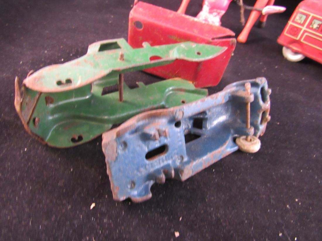 antique toy lot some for parts - 3